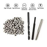 50pcs Thread Repair Installation Kit Stainless