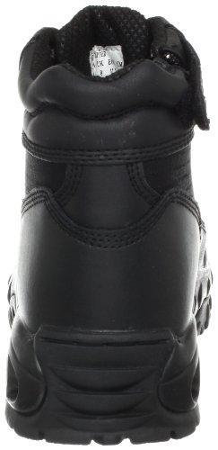 Ridge Footwear Hombres Mid Side Zip Bota Negro