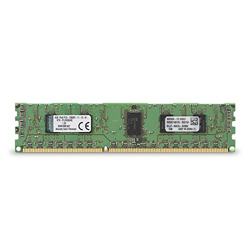 Reg Single Rank Ram Memory - Kingston Technology 4GB 1600MHz Reg ECC 1Rx8 Single Rank DIMM for Select HP/Compaq Desktops KTH-PL316S8/4G