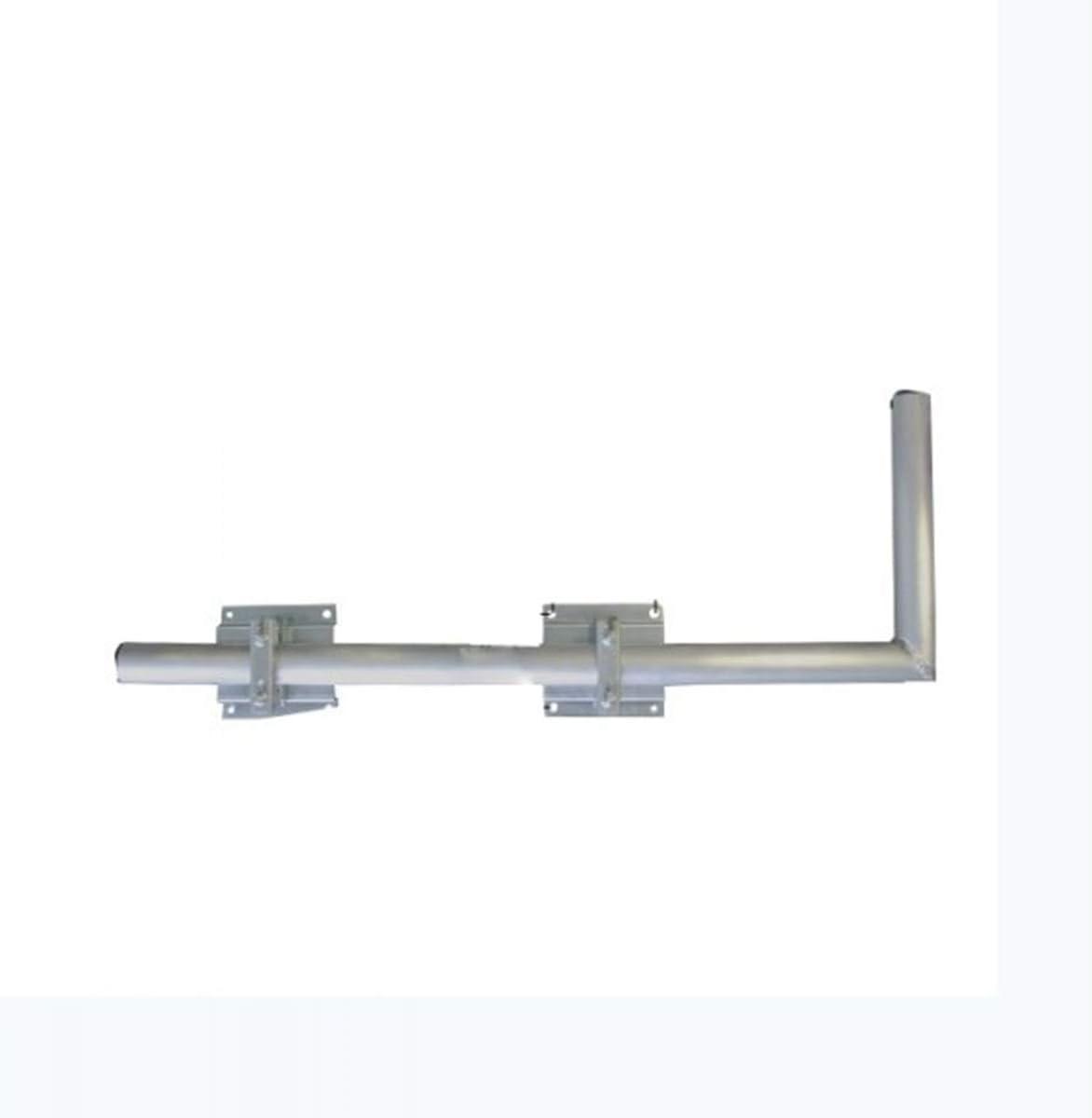 Satix Dachsparrenhalter vormontiert f/ür Sat-Anlagen bis 100 cm verzinkter Stahl