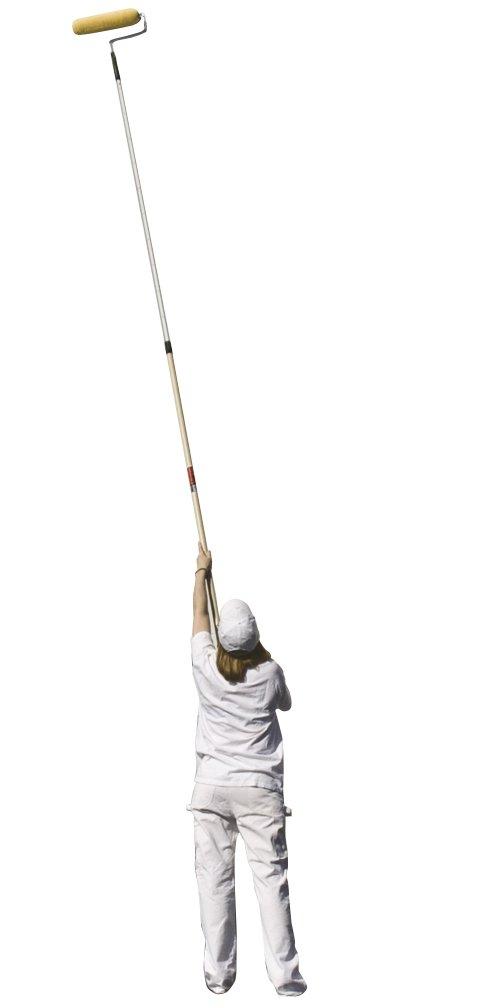 Wooster Brush SR092 Sherlock GT Convertible Extension Pole, 6-12 feet