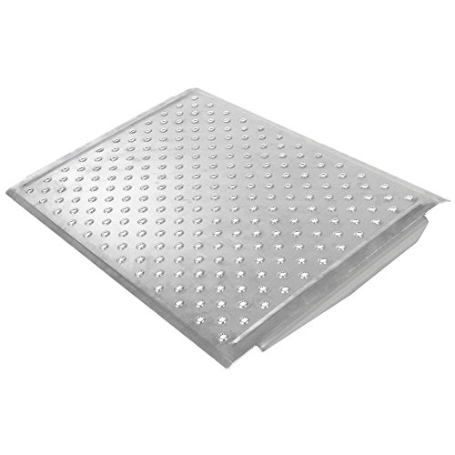 Aluminum Curb Ramp (Aluminum EZ-Traction Curb Ramp - 24