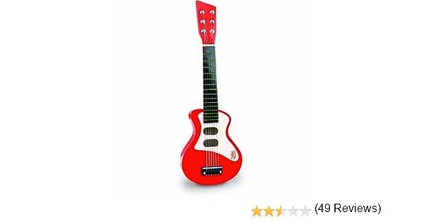Vilac - Guitarra Rock roja (8327): Amazon.es: Juguetes y juegos