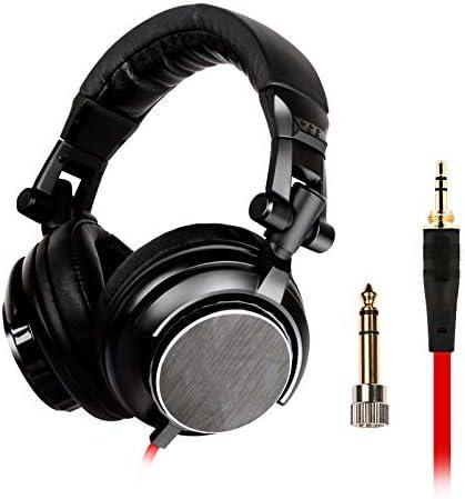 コンピュータPCの電話MP3用ヘッドフォンDJ重低音イヤホンの3.5mmプラグの音楽ヘッドセット