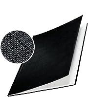 Leitz impressBIND - Tapas duras para encuadernar (7 mm, A4, 10 unidades), color negro