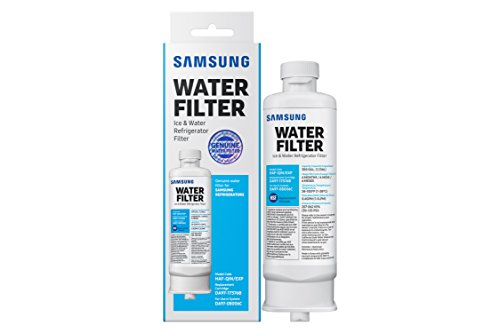 Samsung Genuine HAF-QIN Refrigerator Water Filter DA97-17376B (1 Pack) (Filters Samsung Fridge)