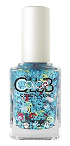 Color Club Nail Lacquer Nailmoji Neon Chill 05 Fluid Ounce