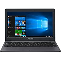 "ASUS VivoBook E203NA-YS03 11.6"" Featherweight design Laptop, Intel Dual-Core Celeron N3350 2.4GHz processor, 4GB DDR3 RAM, 64GB EMMC Storage, App based Windows 10 S (Certified Refurbished)"