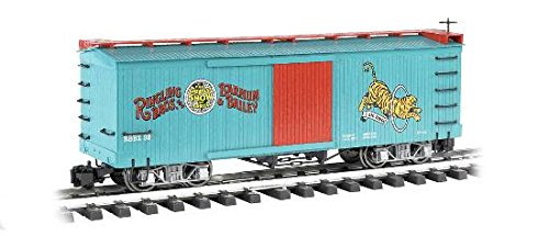 32 Scale Stock (Bachmann Industries Ringling Bros. Barnum & Bailey - Box Car - Tiger #32 - Large