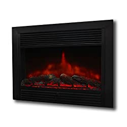 """XtremepowerUS 28.5"""" 1500W 5200BTU Embedded Electric Fireplace Insert Heater W/Remote Control from XtremepowerUS"""