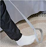 Sammons Preston Rigid Leg Lifter, 41'' Leg Strap with Webbed Loops for Hand and Foot, Easy to Use Leg Lift Assist & Riser for Getting In & Out of Beds, Cars, Wheelchairs