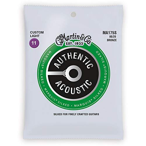Martin Strings Acoustic Guitar Strings (41Y18MA175S)
