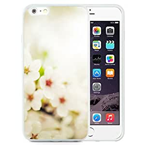 Unique Designed Cover Case For iPhone 6 Plus 5.5 Inch With Bloom Cherry Pring Akura Nature Flower Wallpaper (2) Phone Case Kimberly Kurzendoerfer