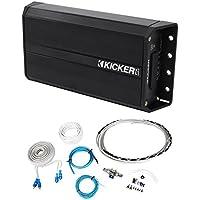 Kicker 42PXA200.2 200w 2-Ch Amplifier Polaris/Motorcycle/ATV/UTV/RZR/Cart+Wires