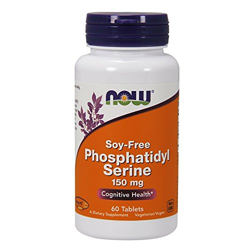 NOW Phosphatidyl Serine 150 mg,60 Tablets (Essentials 60 Tablets)