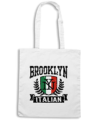Bianca NY Shopper TSTEM0016 Speed Shirt Borsa ITALIAN BROOKLYN YqZPt8w