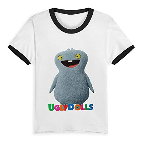 Uglydolls Shirt Children's Casual Unisex Shirt Short Sleeve T-Shirt for Kids Black