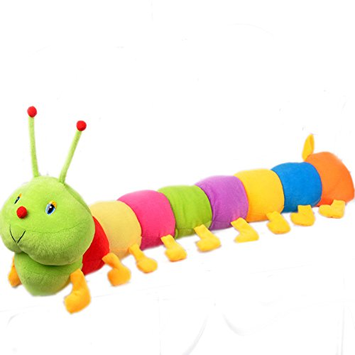 Colorful caterpillar centipede bugs doll children's gift Val