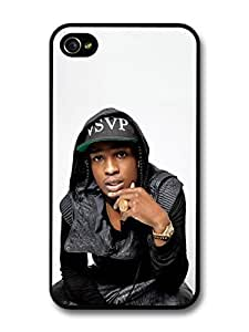 AMAF ? Accessories ASAP Rocky Portrait Ring and Hat case for iPhone 4 4S