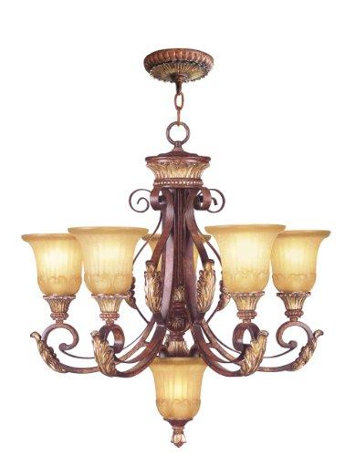 Livex Lighting 8555-63 Villa Verona Chandelier - Lighting Villa Traditional Chandelier