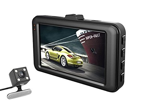 QUMOX 3  HD 1080P im Fahrzeug Auto Bindestrich Cam DVR Kamera Videorecorder G-Sensor HDMI