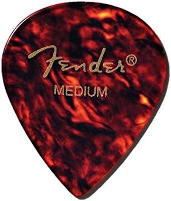Fender Classic Celluloid Shell Heavy Guitar Picks 12 pack