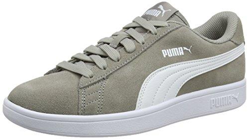 Puma Mixte-erwachsene Chaussure Smash V2, Gris (blanc