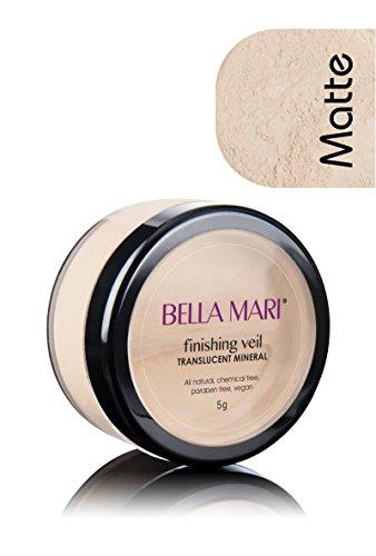 Bella Mari Natural Mineral Finishing Veil, Translucent; 0.2oz