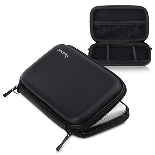 FYL Black Airform EVA Protective Travel Case Pouch For Nintendo DS Lite NDSL 3DS ()
