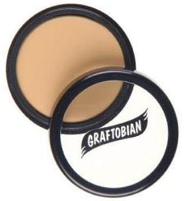 Graftobian HD Glamour Creme Foundation, Winter Wheat 0.5 Ounce