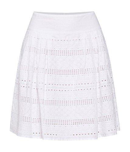 Pennyblack Garda, Falda para Mujer Blanco Óptico