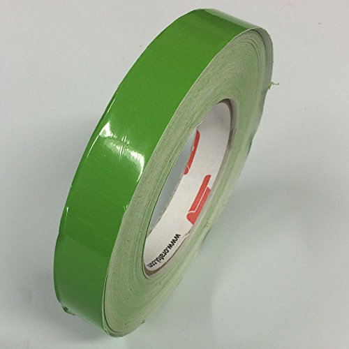 (ORACAL 651 Vinyl Pinstriping Tape - Stripe Decals, Stickers, Striping - 1/4 Lime-Tree Green)