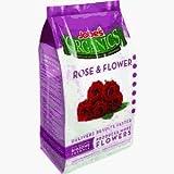 Jobe's 09423  Organics Flower & Rose Granular Fertilizer with Biozome, 4 pound bag