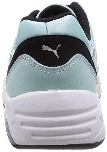 Puma R698 Mujer Zapatillas Verde Azul - azul