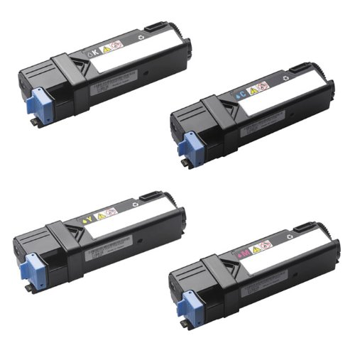 HI-VISION HI-YIELDS ® Compatible Toner Cartridge Replacement for Dell 1320 (1 Black, 1 Cyan, 1 Yellow, 1 Magenta, 4-Pack)