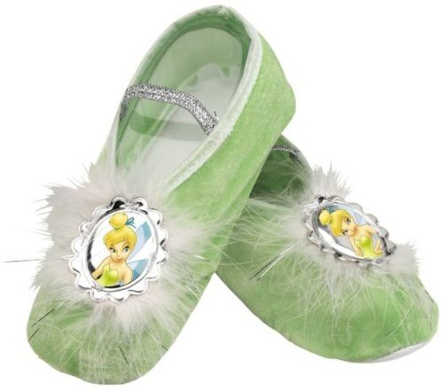 Costumes Make Tinkerbell (Tinker Bell Ballet Slippers,One Size Child(Discontinued by)