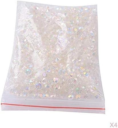 PETSOLA 20000 / Pack Acrílico Cristales De Diamantes Decoraciones para Fiestas De Boda Manualidades DIY: Amazon.es: Hogar
