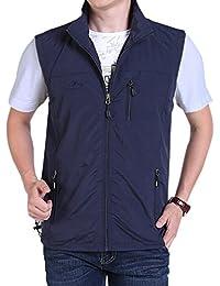 0a1d95ce86b Men s Casual Outdoor Lightweight Quick Dry Travel Vest Outerwear