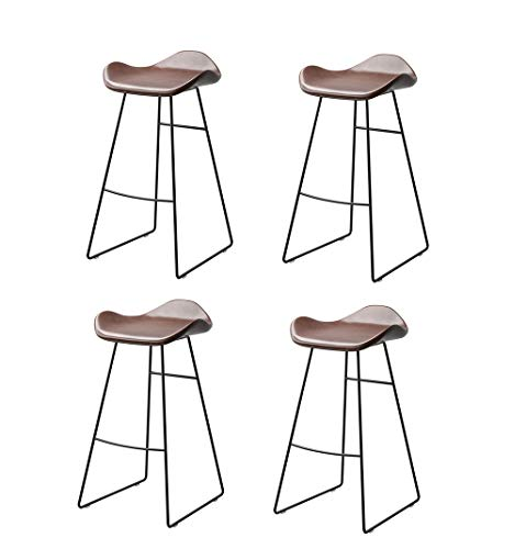 - Bar Stool High Stool Nordic Style Bar Chair | Home Kitchen Dining Chairs | Creative Pub High Stool, Set of 2/3/4, Load-Bearing 300kg Dining Chair (Color : Set of 4)