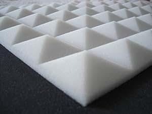 62 paneles acústicos para insonorización piramidales. Para