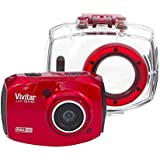 Câmera Filmadora de Ação, Vivitar, DVR787HD, Vermelha