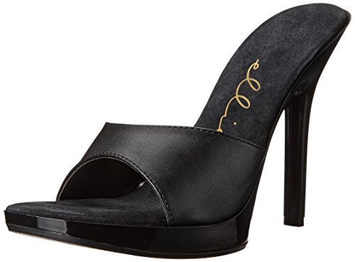 Ellie Shoes Women's 502-vanity, Black Patent, 8 M US
