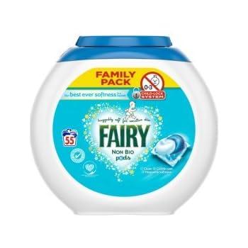 Amazon Com Fairy Non Bio Laundry Detergent 55 Pods