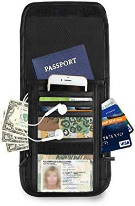 ゼブラ キリン パスポートホルダー セキュリティケース パスポートケース スキミング防止 首下げ トラベルポーチ ネックホルダー 貴重品入れ カードバッグ スマホ 多機能収納ポケット 防水 軽量 海外旅行 出張 ビジネス