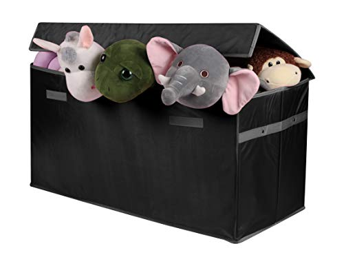 LUXENNO Toy Chest Organizers (Black)