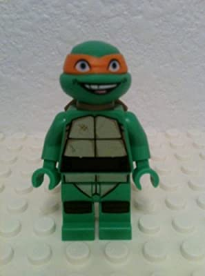 LEGO TMNT - MICHELANGELO V1 Minifigure - Teenage Mutant ...