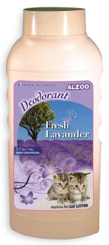 Alzoo Cat Litter Deodorizer, Lavender Bay