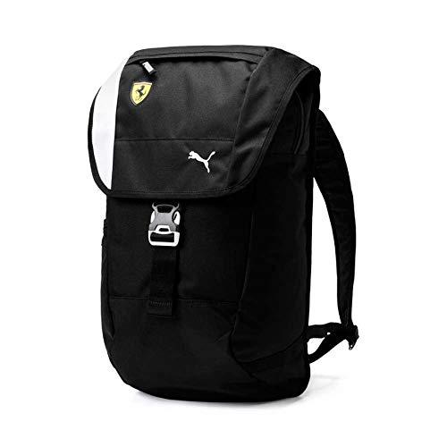 PUMA Men's Scuderia Ferrari Fanwear Backpack, black, One Size