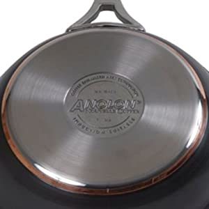 Anolon Nouvelle Copper Hard Anodized Nonstick Skillet
