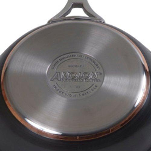 Anolon Nouvelle Copper Hard Anodized Nonstick 2-Qt. Covered Saucepan